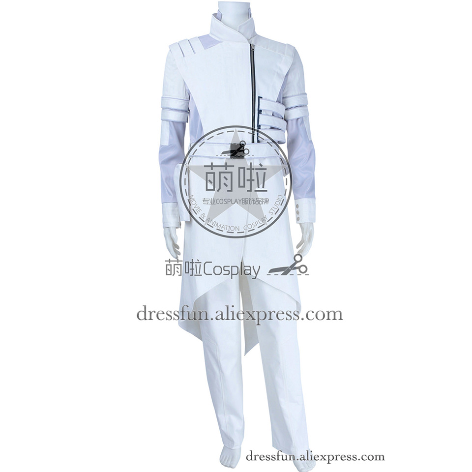 G I Joe Retaliation Cosplay Storm Shadow Paladin Costume White Popular Uniform Outfits Full Set Halloween Fashion Party