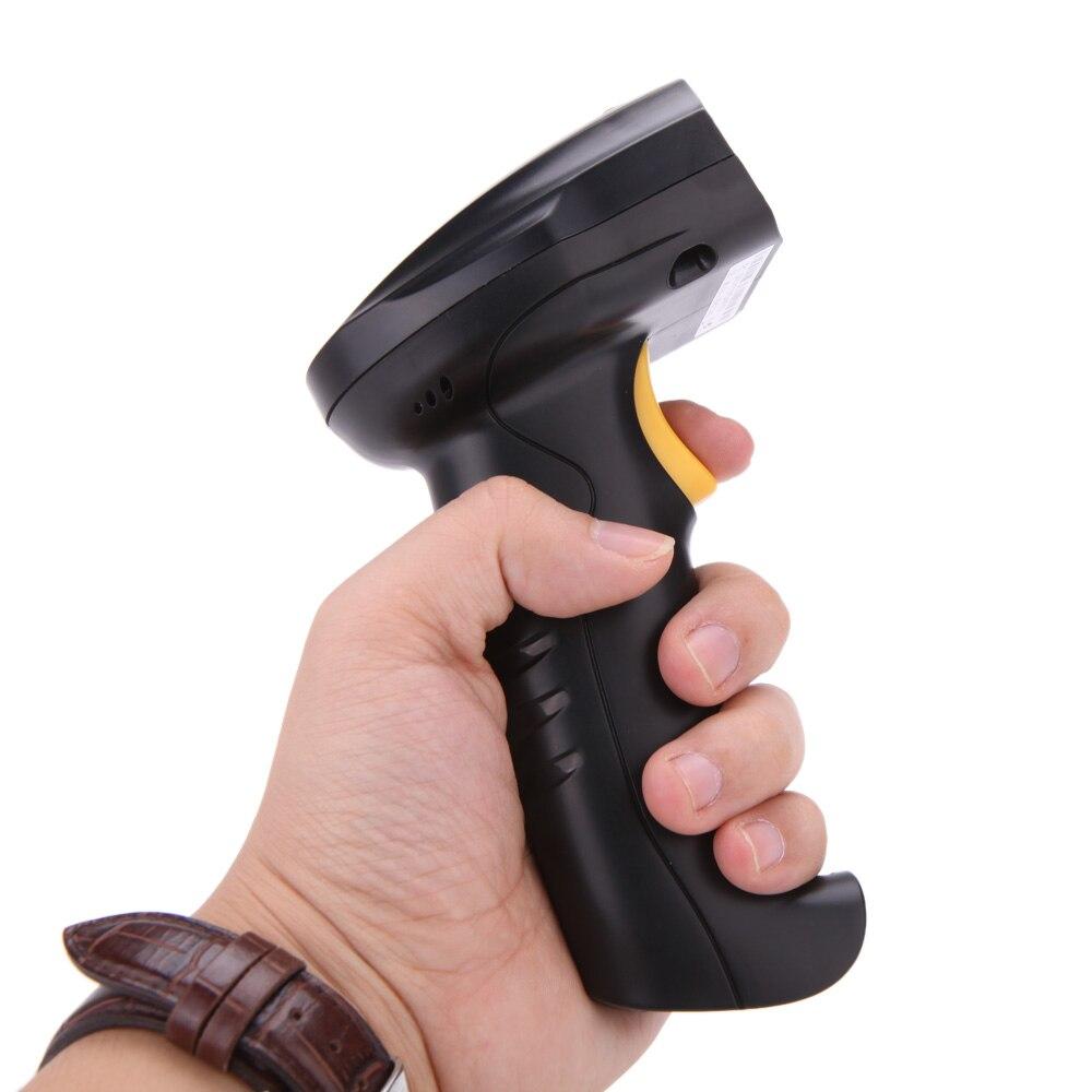 high speed 24g wireless long distance laser scan barcode barcode scanner handheld decoder reader gun