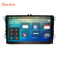 Seicane 9 Android 7.1 Car Radio GPS Navigation for 2009 2013 VW Volkswagen BORA Polo V 6R Support Radio 4G WiFi DVD Player