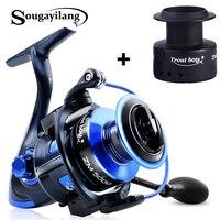 Sougayilang Spinning Fishing Reel 13BB+1High Quality Ball Bearings 5.5:1 Fishing Reel 2000 5000 8KG Max Drag Power Spinning Reel