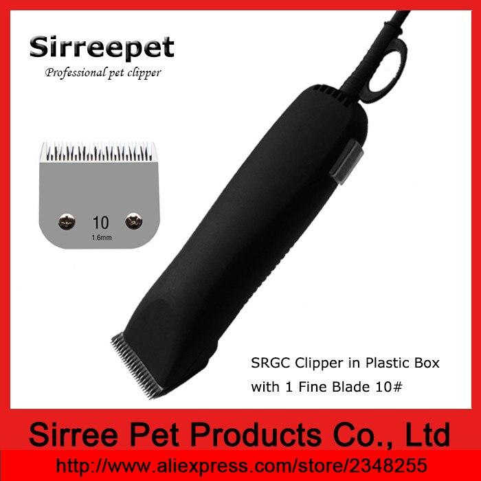 Animal clipper with 1 fine blade 10# in plastic box