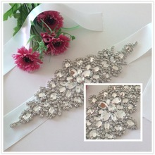 NewRhinestone Bridal Sash,Beaded Crystal Sash,Bridesmaids,Wedding Gown Belt RA004
