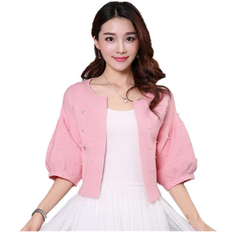 Woolen short jacket spring and Autumn 2018 new female Slim short sweater cardigan small shawl women cardigans QH0264