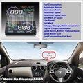 Автомобильный HUD Дисплей для Renault Lodgy 2012 ~ 2016-автомобильный компьютер Экран Дисплей проектор Refkecting лобовое стекло