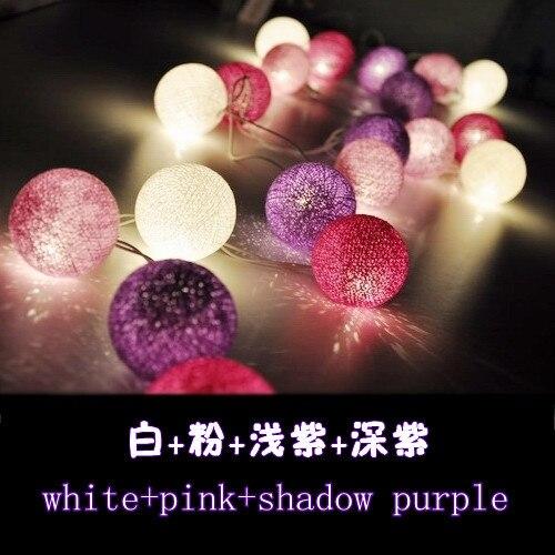 Lantern Lighting ball lamp wire knitting festive Valentine's Day Halloween decoration Home Bar Decoration 20 light ball
