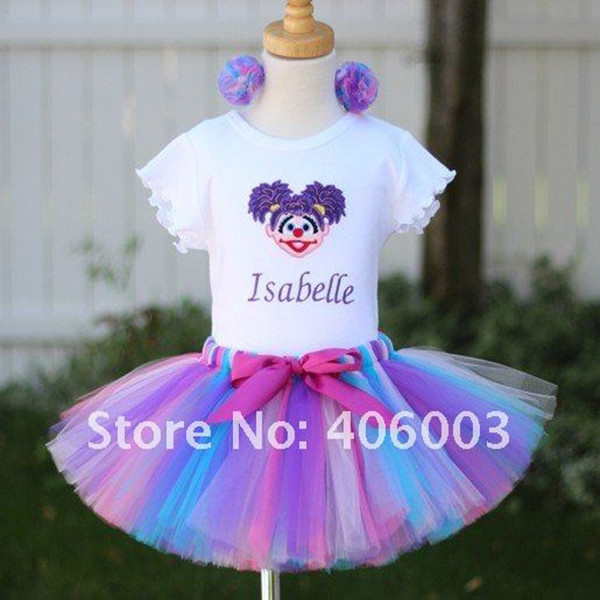 fantasia infantil halloween fluffy girls handmade tutu tulle skirt for children's skirt