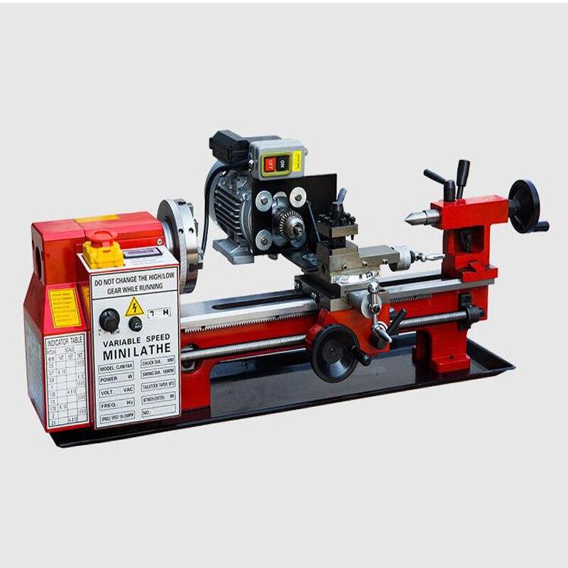 Metal Multi-function Home CNC Beads Machine Small Ball Machine Mini Lathe Machine Wood Beads Woodworking Variable Speed