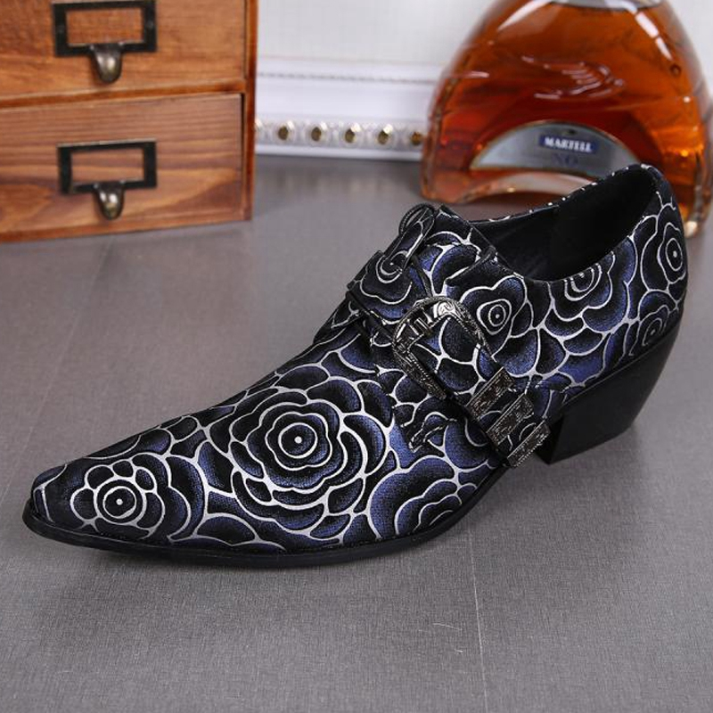 Plus Size Elegant Pointed Toe Lace up Man Banquet Oxfords Height Increasing Suede Leather Men's Formal Dress Party Shoes SL273 plus size peplum long lace formal dress