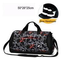 2018 New Style Swimming Bag Camo Large Capacity Swim Handbag Outdoor Basketball Football Luggage Stroge Crossbody Bag Travel Bag