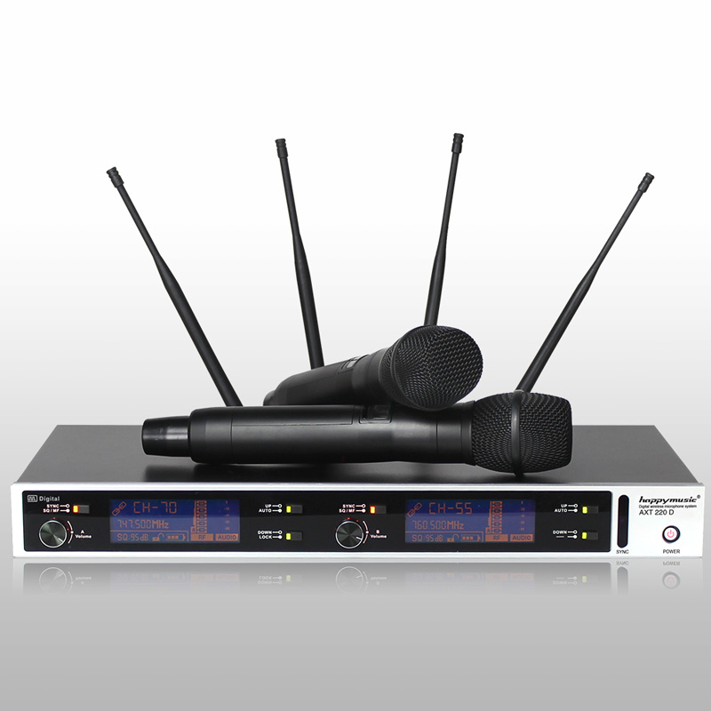 New Top quality!True diversity digital wireless microphone system professional performance microphone digital pilot systemNew Top quality!True diversity digital wireless microphone system professional performance microphone digital pilot system