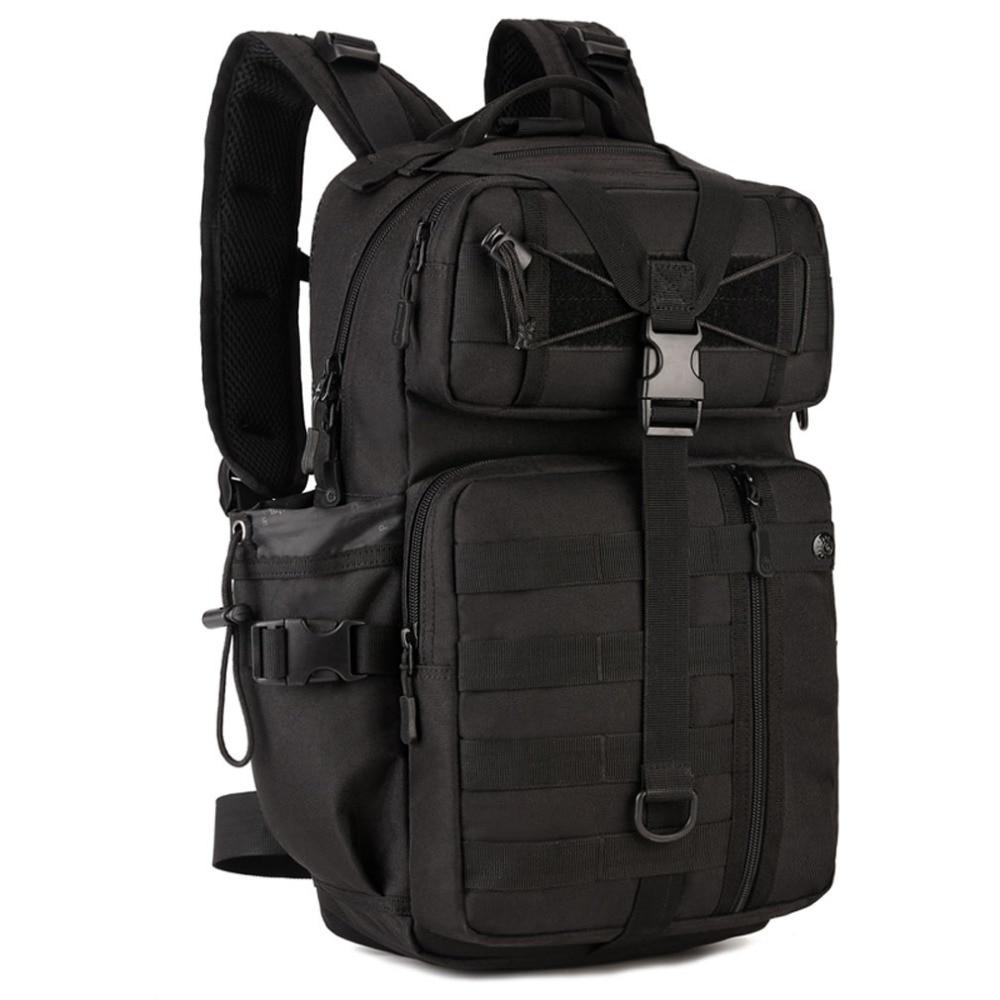 New 1000D Nylon Men Backpack Trend Casual School Bag For Student Laptop Daypack Water Bottle Rucksack Travel Knapsack цена