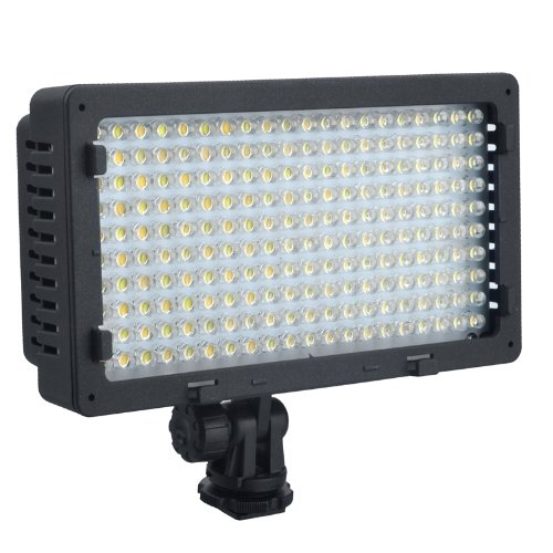 NanGuang CN-LUX2200 2200 LED Bi-Color 3200K-5400K LED Video Light Lamp For Canon Nikon Sony Camera DV Camcorder godox led 308y 308 leds professional led video 3300k light with remote control for canon nikon camera dv camcorder