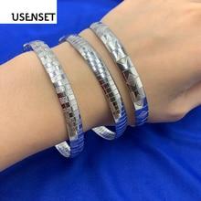 Очаровательные ювелирные изделия из нержавеющей стали браслеты для женщин чокер серебряный цвет воротник змея браслет цепочка