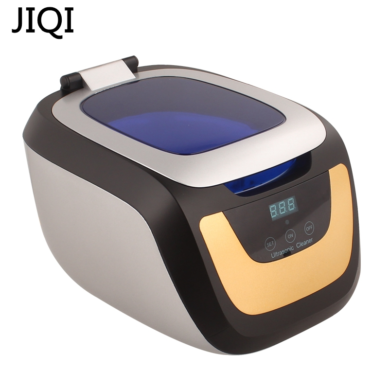 JIQI ultrasonic cleaner 110V/220V Jewelry Glasses Circuit Board Cleaning Machine Smart Control ultrasonic cleaning bath EU/US/UK 110v 220v aoyue9050 ultrasonic cleaner cleaning machine for cleaning electronic accessories