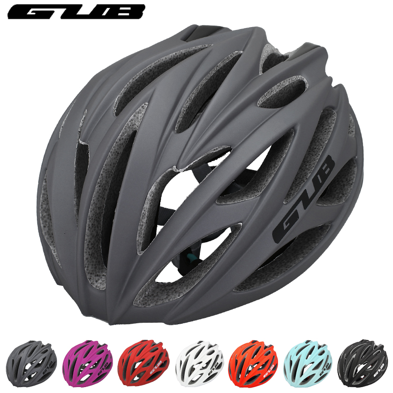 GUB Integrally-molded Riding Cycling Helmet Ultralight 240G Protector Bicycle Accessories EPS+PC Adjustable MTB Road Bike Helmet basecamp integrally molded helmet bike bicycle helmet outdoor sport riding bike head protector cycling helmet riding accessories