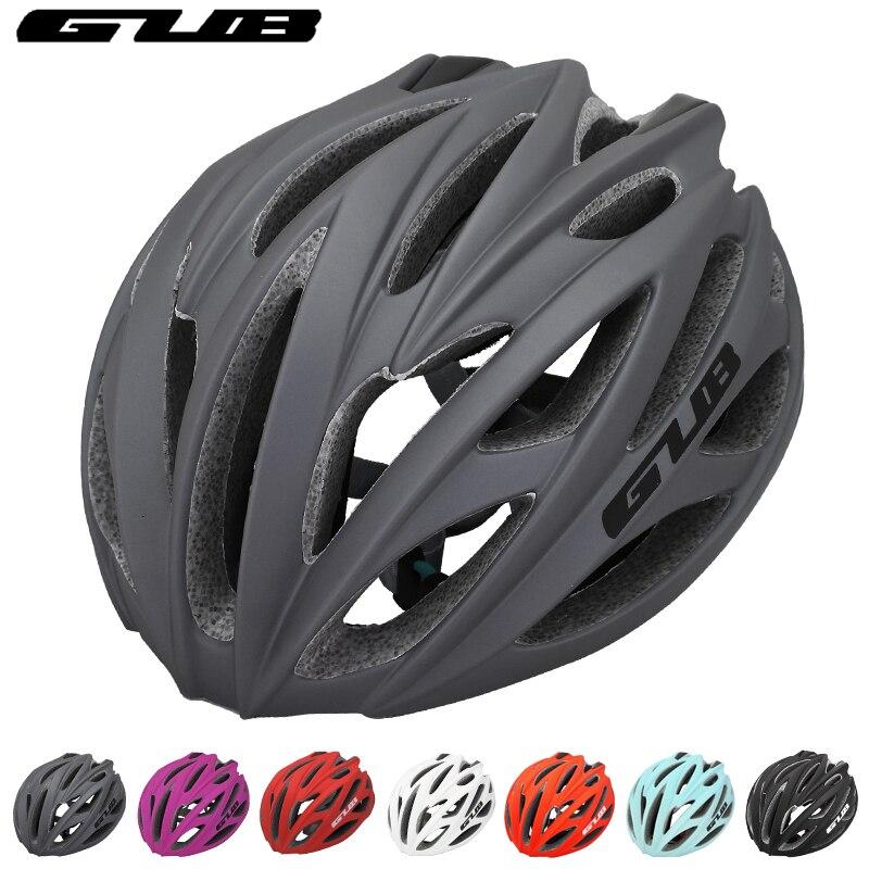 GUB intégral-moulé équitation vélo casque ultra-léger 240G protecteur vélo accessoires EPS + PC réglable vtt route casque de vélo