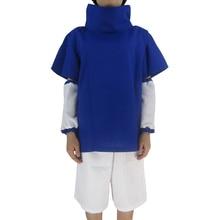 Naruto Cosplay Sasuke Uchiha 1st Generation Suit Unisex Party Halloween Costume Including T-Shirt Oversleeves Pants ноутбук lenovo thinkpad edge 480 20kn005crt intel core i5 8250u 1 6 ghz 8192mb 1000gb no odd intel hd graphics wi fi bluetooth cam 14 0 1920x1080 dos