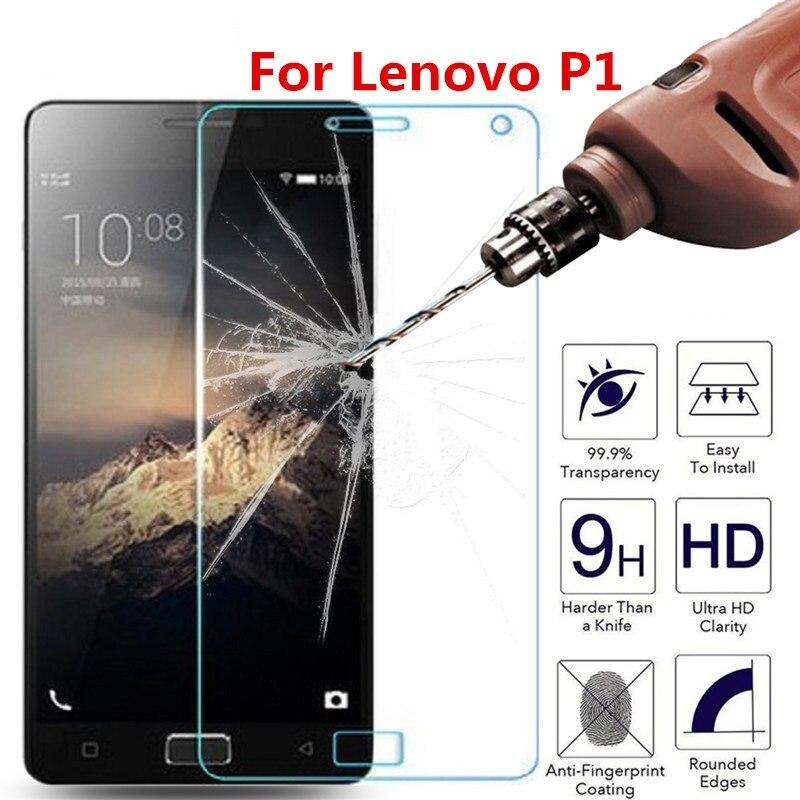 Screen Protector Tempered Glass For Lenovo VIBE P1 P 1 P1a42 P1c72 P1c58 2.5D 9H Phone Premium Protective Film Case