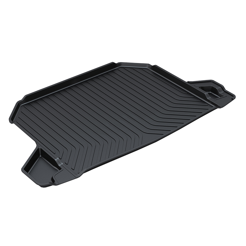 TPO Trunk Tray Mat for Honda HRV,Premium Waterproof Anti-Slip Car in Heavy Duty,Black rear trunk liner cargo floor tray for toyota ysx213 toyota runner premium waterproof anti slip car trunk mat in heavy duty black