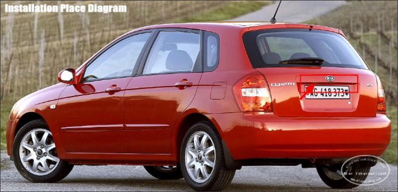 KIA Cerato Hatchback-license-plate-lamp