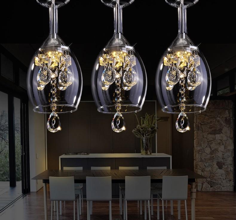 Wineglass Chandeliers