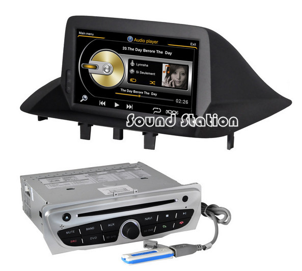 megane 3 iii dvd gps for renault megane 3 car multimedia dvd gps navigation navi nav sat media. Black Bedroom Furniture Sets. Home Design Ideas