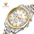 2016 el más nuevo ouyawei reloj mecánico oro de primeras marcas de lujo ejército deporte de acero inoxidable reloj de pulsera para hombres skeleton reloj hombre