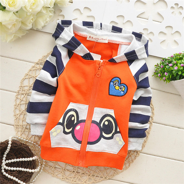 0856eec23 Hot sale! Korean Baby boys spring and autumn cartoon Zipper Hoodies ...