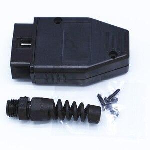 Image 3 - 10 stücke Universal 16Pin 16 pin EOBD2 OBDii OBD II OBD2 J1962 Stecker Männlich Stecker Adapter 1 stück