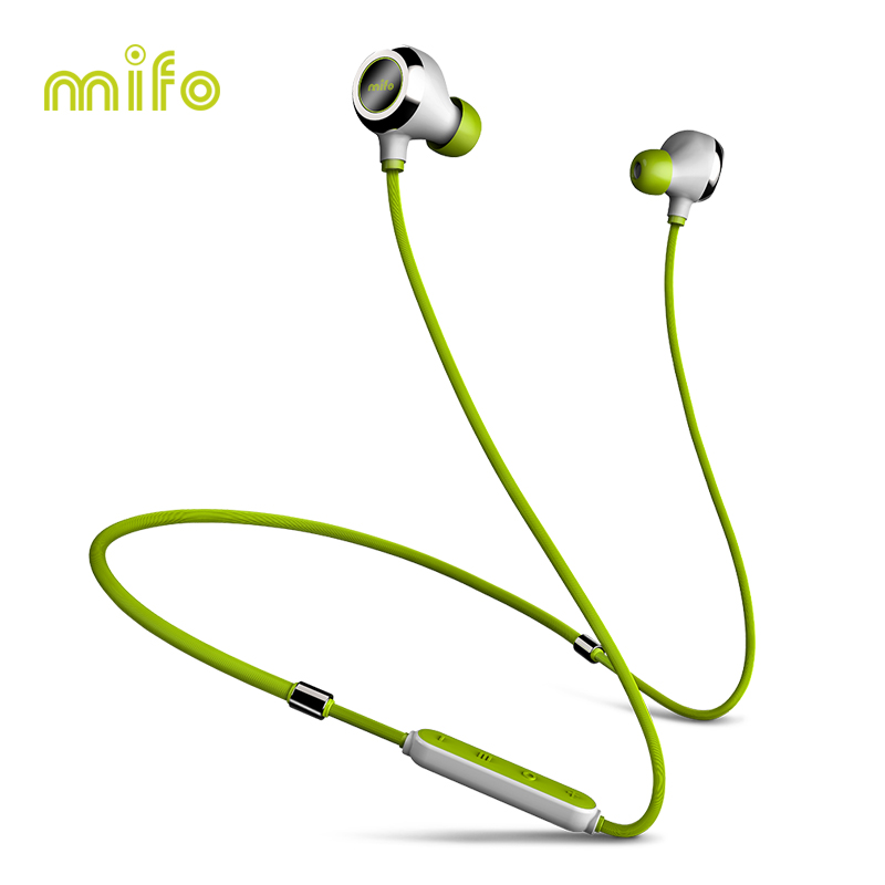 mifo i6 New Neckband Bluetooth Earphone Stereo Music Wireless Headset Workout Sport Earbuds Magnetic In-Ear Earpiece For Phone