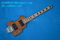 Neue Große John headless gitarre mit erle korpus in natürliche F-1923
