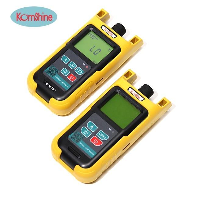 Optic fiber power meter KomShine KPM-35 FTTH fiber cable tester w/ Silicone case