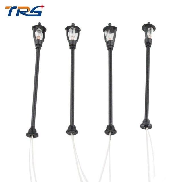 6.5V Single Head Scale Lampposts Train HO N Scale Lights Model Scale Street Lamps Model Building Lights