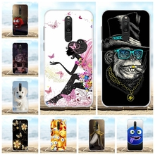 For Meizu M6T Case Ultra-slim Soft TPU Silicone For Meizu M6T Meiblue 6T Cover Cat Patterned For Meizu M6T Meilan 6T Bumper Capa все цены