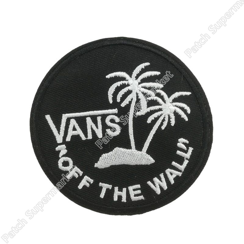 Off The Wall Patches Go Hiking Travel Souvenir badge Mountain Sea Moon Stars Tattoo MC Biker