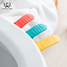 Portable Foldable Small Toilet Seat Cover Lifter Sanitary Closestool Seat Cover Lift Handle for Travel Home Bathroom XF50(China)