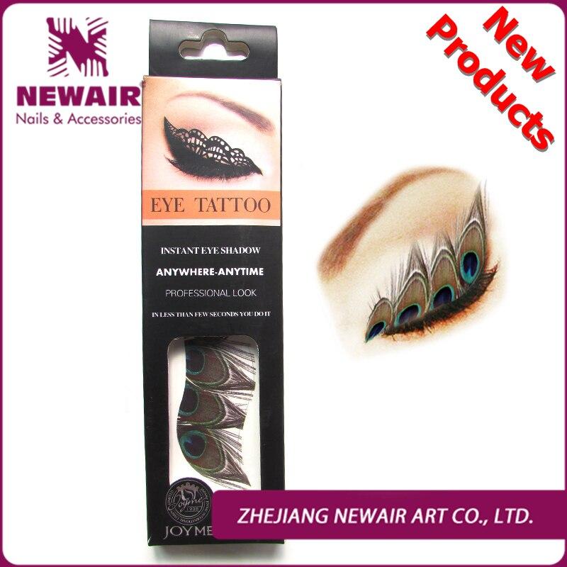 Brand new eye liner tattoos 27 styles 2 pairs set eye for Tattooed eyeliner brand