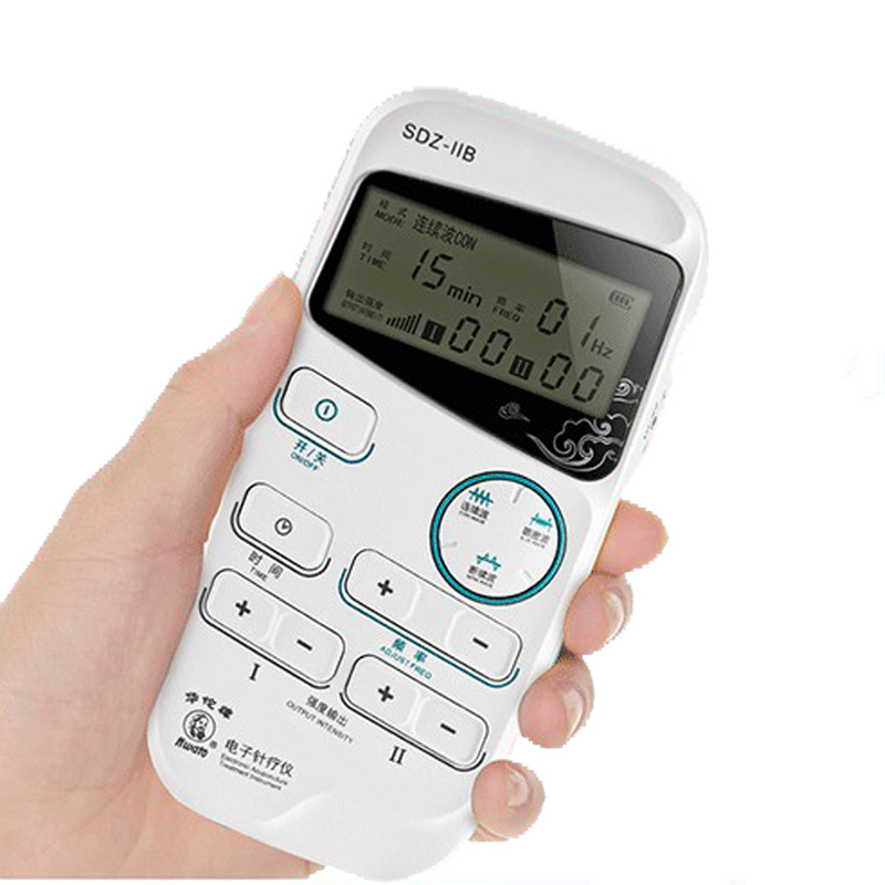 Hand Held Acupuncture Stimulator Hwato SDZ-IIB Electronic acupuncture treatment instrument hwato computer random pulse acupuncture treatment instrument smy 10a nerve and muscle stimulator tens 10 channels output ce appr