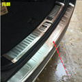 Nuevo acero inoxidable incorporado externa protector sill tronco recorte exterior car styling para chevrolet captiva 2009-2015