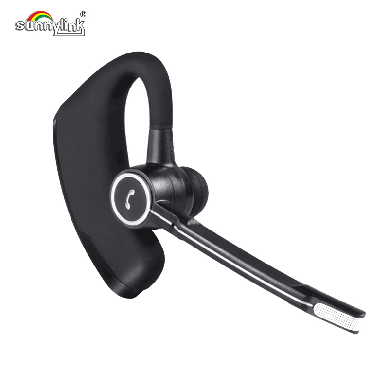 HANDS FREE WIRELESS BLUETOOTH 4.0 V. HEADSET BUSINESS BLUETOOTH EARPHONES , VOICE CONTROL WEARABLE EARBUDS FOR BUSINESS &DRIVE image