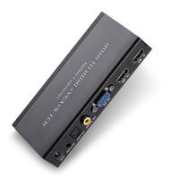 HDMI to VGA HDMI SPDIF,COAXIAL,EARPHONE , 2CH/5.1CH ,Audio Extractor Converter ADAPTER