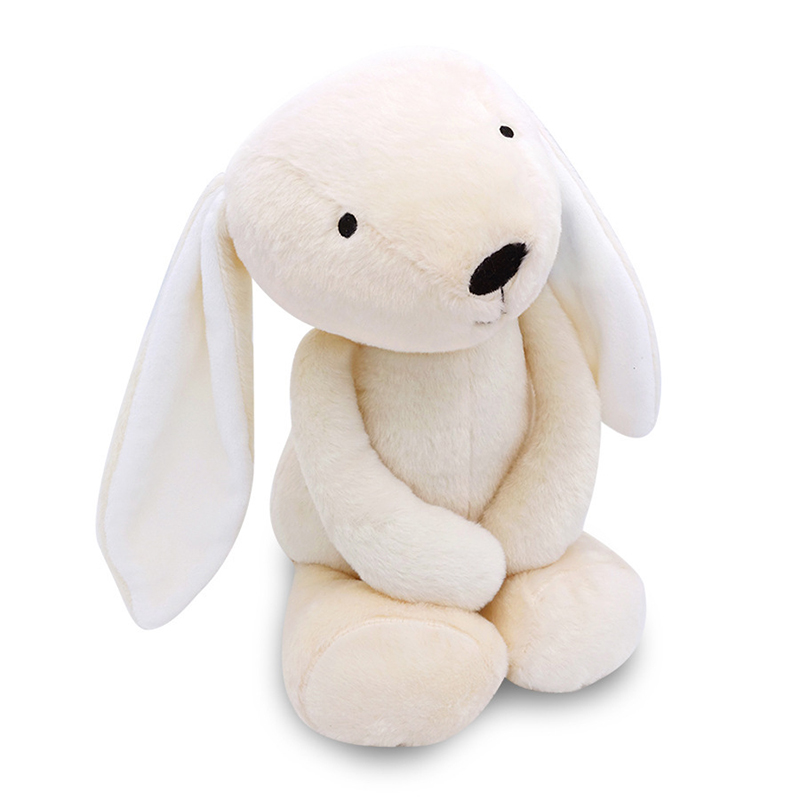 Children rabbit doll baby soft plush doll toy boy girl PP Cotton stuffed cartoon animal appease doll suitable for 0-3 years old