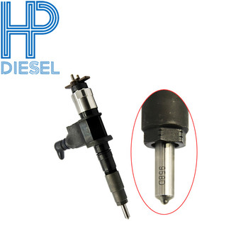 6pcs/lot Best quality common rail diesel injector 095000-6631 for Denso Suit for nozzle DLLLA153P958 for MD90 engine