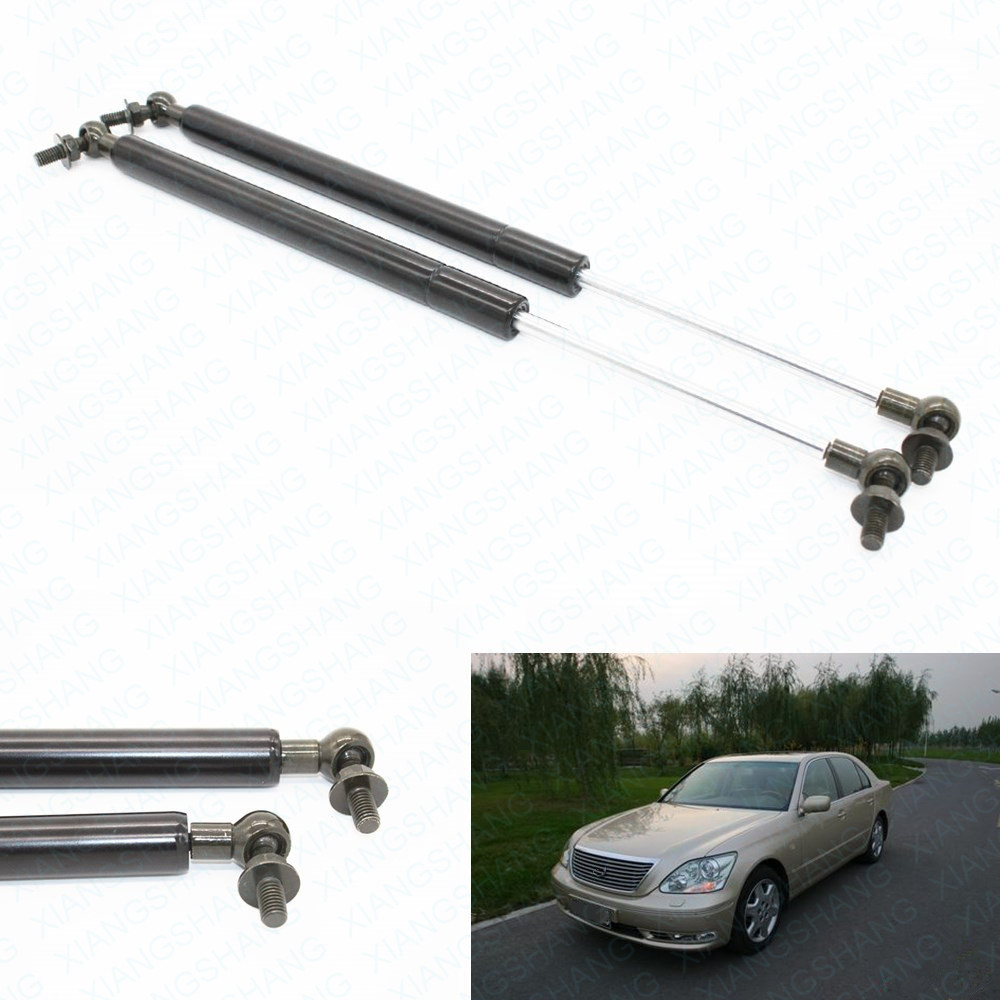 1Pair Auto Front Hood Lift Supports Gas Shocks Struts Charged Fits for Lexus LS430 2001 2002