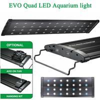 36 48/90 120CM MHX 220W Marine Coral Reef Cichlid Plant freshwater Aquarium Aquatic Fish tank LED Light Lamp Lighting fixture