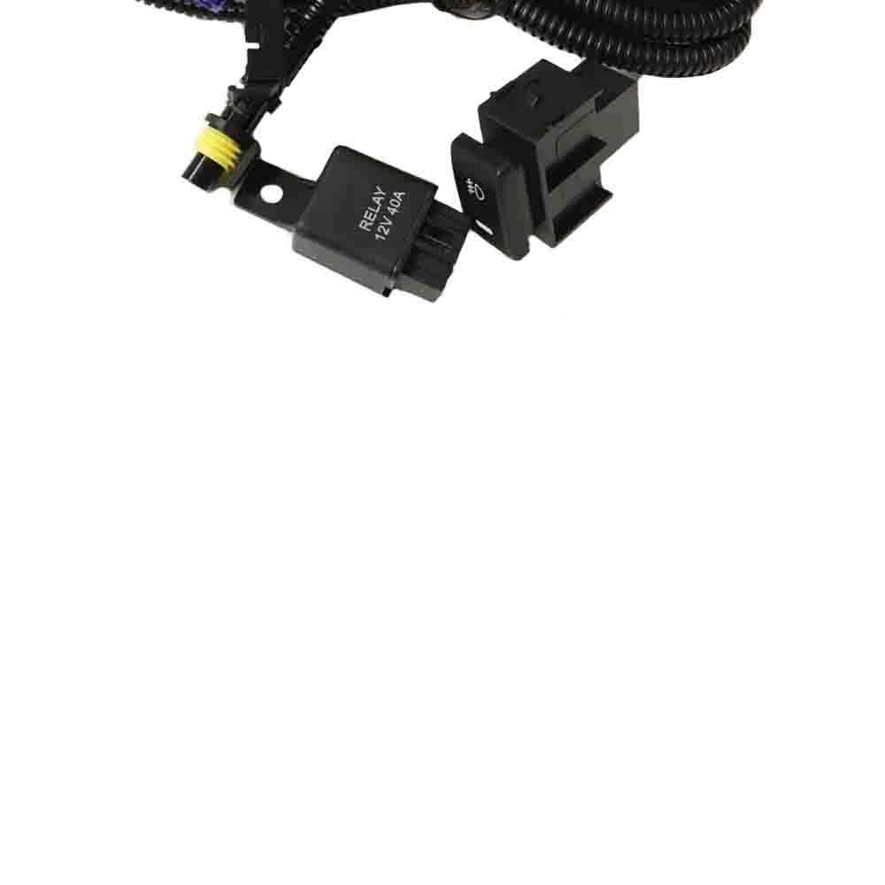 hight resolution of  new wiring harness sockets wire switches for h11 fog light lamp for ford focus fiesta