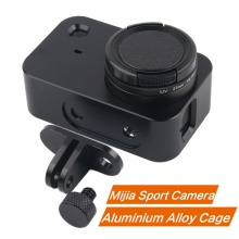 CNC Aluminum Alloy Protective Case for Xiaomi Mijia Camera Cage Mount with 37mm UV Lens 4K Mini Sport