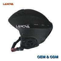 LANOVA Brand Professional Adult Ski Helmet Man Woman Skating Skateboard Helmet Multicolor Snow Sports Helmets W