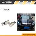 2x T10 W5W LED white Error Free Clearance Light parking Bulb For Renault duster megane 2 logan Koleos laguna 2 captur clio