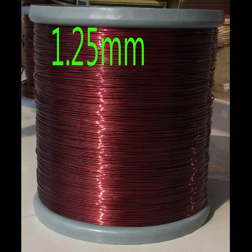 cltgxdd size 1.25mm QZ-2/180 Degree copper enameled wire / magnet wire